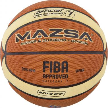ΜΠΑΛΑ BASKET MAZSA ΝΟ7 CELLULAR RUBBER (FIBA APPR.) 41510