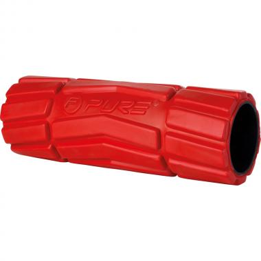 FOAM ROLLER MEDIUM RED 36X14CM PURE
